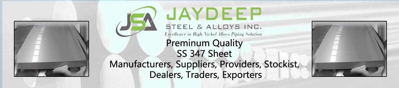 SS 347 Sheet Dealers